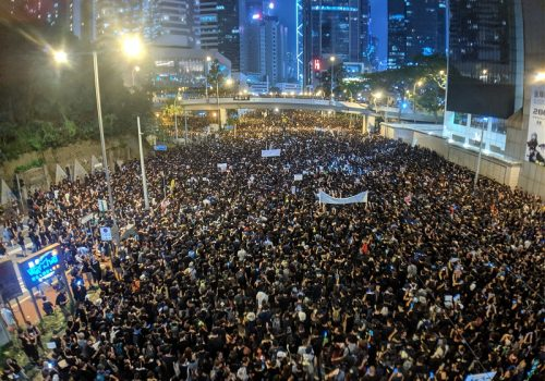 The Hong Kong protests: a failure of hybrid governance