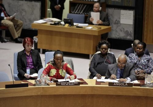 The International Women, Peace and Security Policy Framework